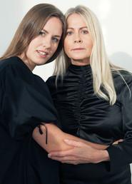Dina Gunke med dotter