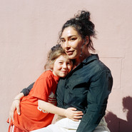 Rosanna Osorio Clavijos med dotter