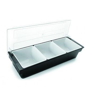 Condiment Dispenser (3 bowl)