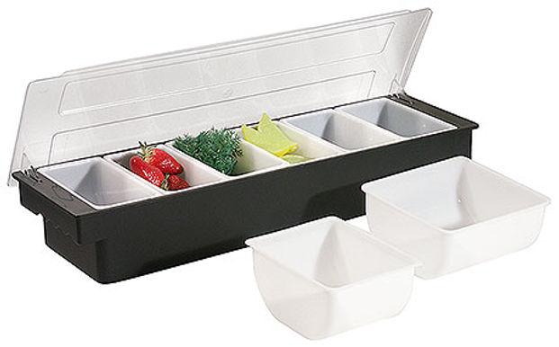 Condiment Dispenser (6 bowl)