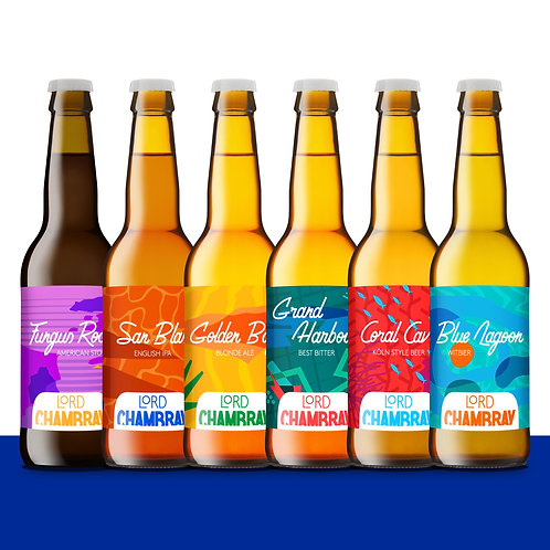 Lord Chambray Beer Tasting 6-Pack