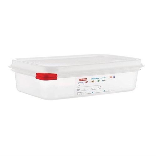 Airtight dough containers