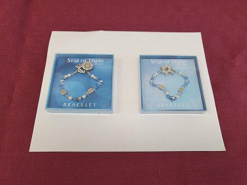Star of David Stretch Bracelets 0009