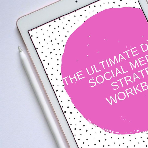 Introducing Neon Moose's NEW product - the Ultimate DIY Social Media Strategy Workbook!