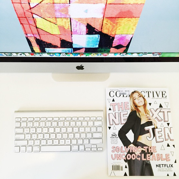 moose musings: collective magazine + neon vintage