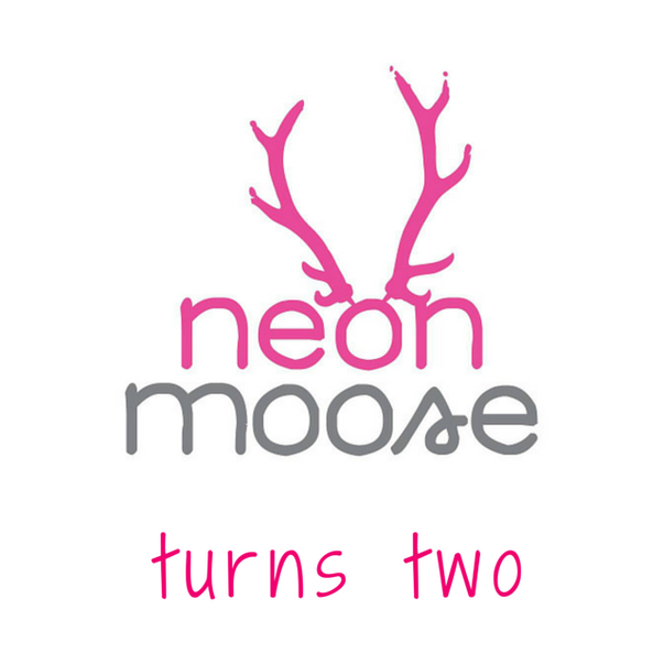 moose puff - neon moose turns two