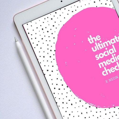 The Ultimate Social Media Checklist