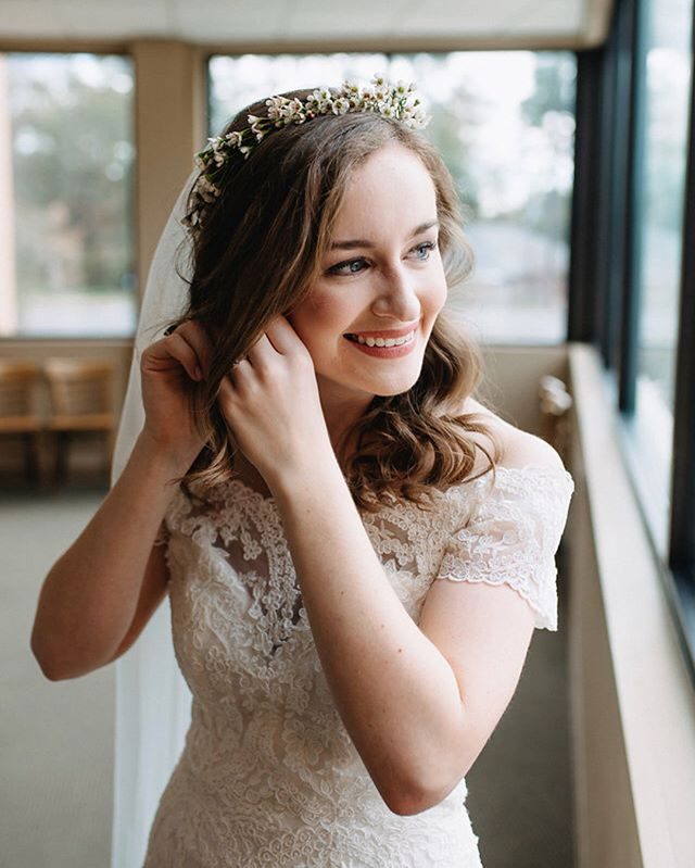 Wedding season is in full swing here at About Face and we absolutely love our brides! 💙_We had the