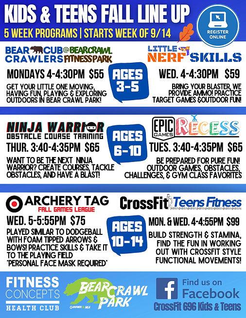 fitness concepts & crossfit kids present