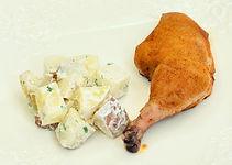 Mango Habanero BBQ Chicken Legs