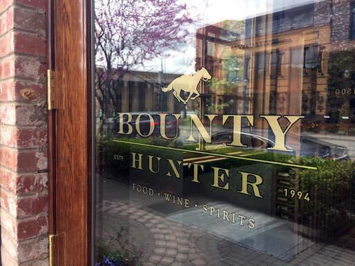 Bounty Hunter Window Graphics