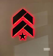 Barry's Interior Chevron Logo