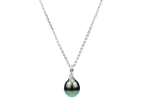 Tahiti Pearl Drop Necklace