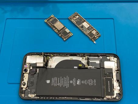 iPhone11 起動不良修理 復旧ならず