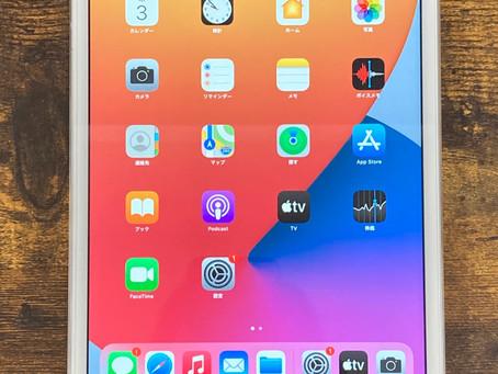 iPadバッテリー交換修理も承っております。iPad mini4バッテリー交換修理致しました。