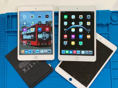 iPad mini4|液晶交換修理|バッテリー交換修理|作業時間3時間|データそのまま