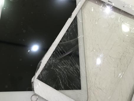 iPad5のガラス割れ修理もやっています!