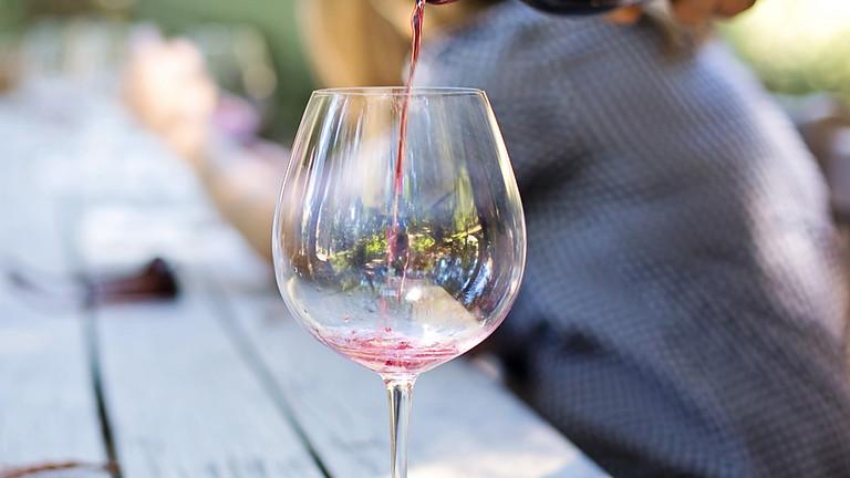 Gezondheidshuisje Terras - Biodynamische wijnen proeven