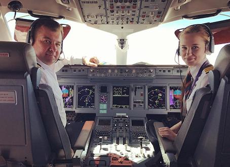 Donne pilota, allacciatevi le cinture!