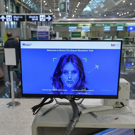 Controlli biometrici a Fiumicino