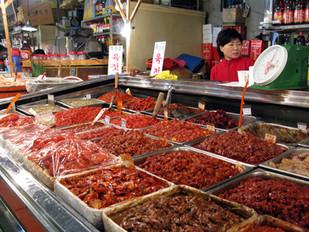 Mercato del pesce di Seoul