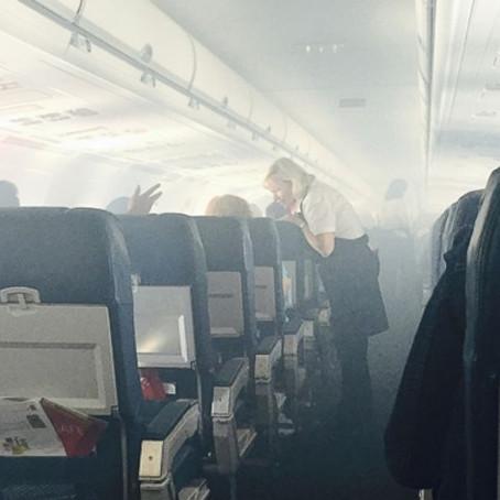 Quanto è tossica l'aria che respiriamo in aereo?
