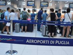Ripresa voli Ryanair dalla Puglia