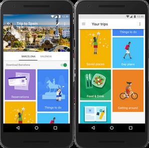 Google Trips, vita più semplice per i turisti