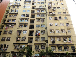 Le finestre di Hong Kong