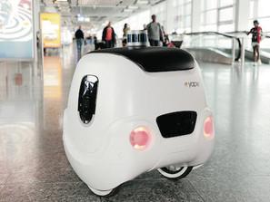Un robot vi porterà le valigie al gate