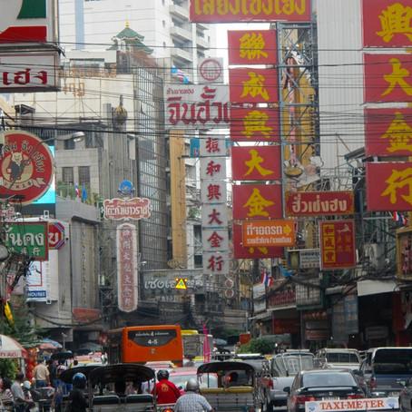 Le strade di Bangkok
