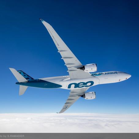 Volo inaugurale per l'Airbus ecologico