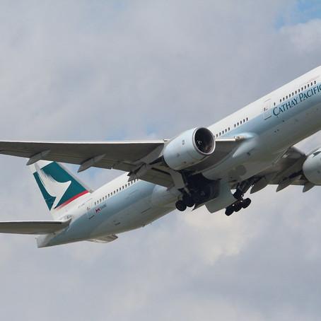 Cathay ritira l'ultimo 777-200