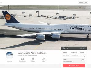 Lufthansa 'affitta' su Airbnb