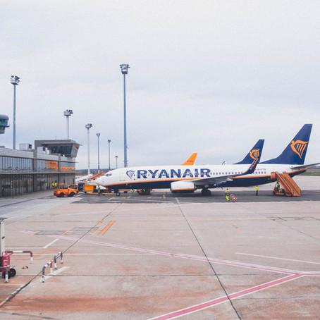 Ryanair decimo inquinatore europeo