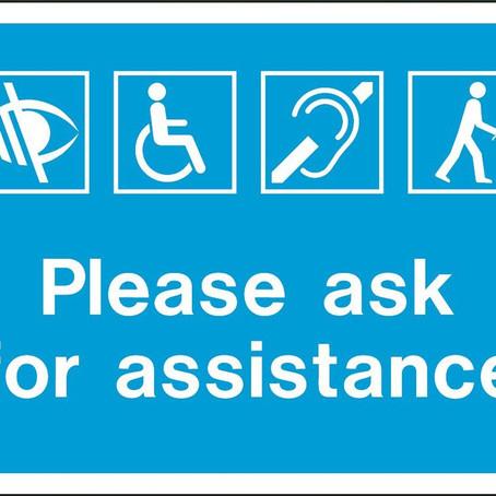 Disabilità: dimenticati sull'aereo