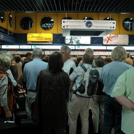 Traffico, in 15 anni aumento di 65 milioni di passeggeri