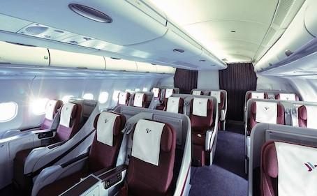 L'arte raffinata di cambiare posto in aereo