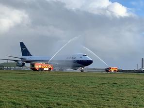 Volo di addio per il 747 British Airways