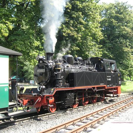 La ferrovia storica Rasender Roland di Rugen