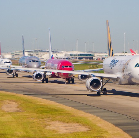 I corridoi aerei più trafficati al mondo