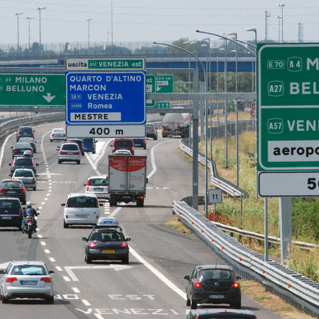 Autostrade venete, un dedalo di inefficienza