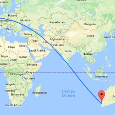 Australia Europa no stop dal 2018