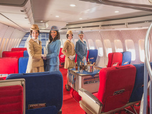 Pan Am: come si volava negli anni '70