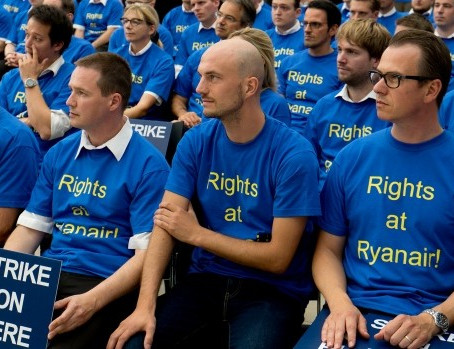 Piloti Ryanair in sciopero per 4 giorni