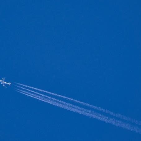 Trasporto aereo, emissioni raddoppiate in 20 anni