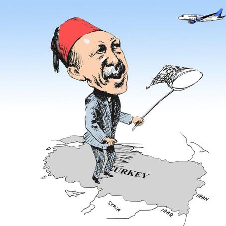 Terrorismo e instabilità, Turkish taglia le frequenze