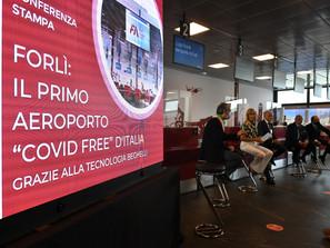 Aeroporto di Forlì è 'covid free'