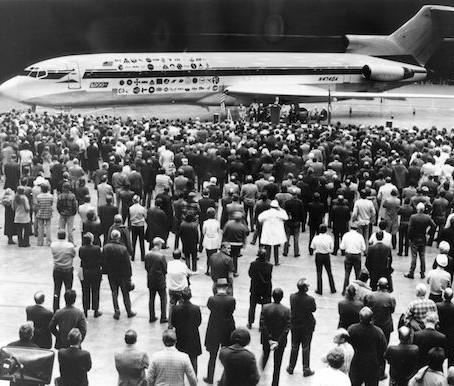 L'ultimo volo del Boeing 727
