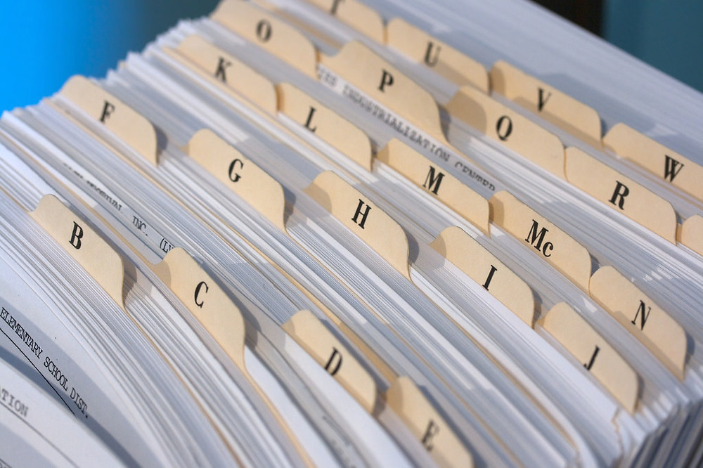 Efficient Filing Systems 101 - Alphabetical Filing System